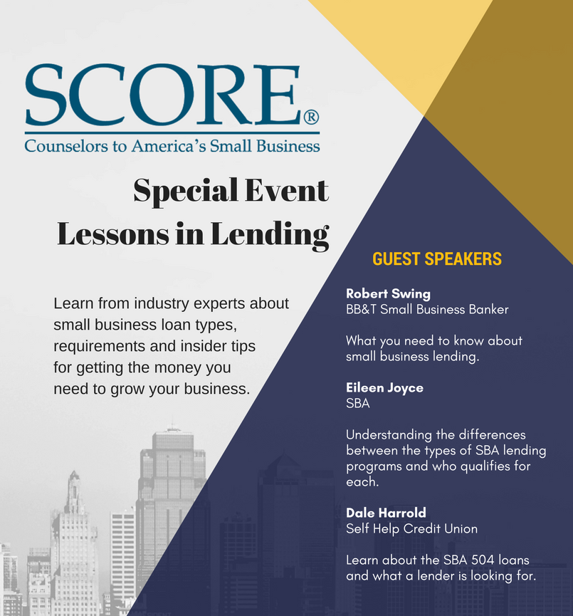 score-lending-event-flyer